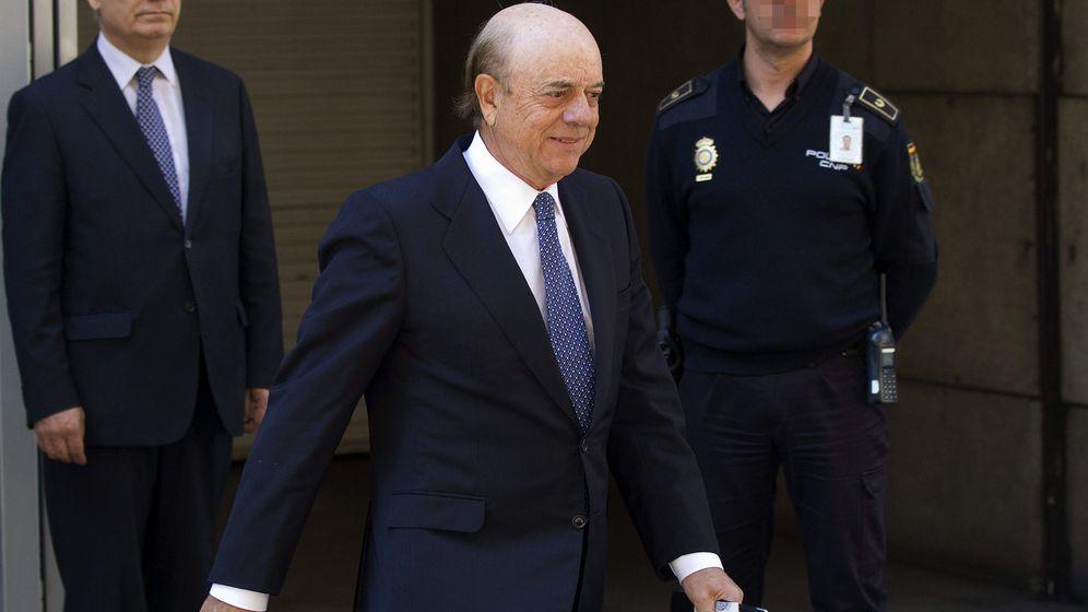Foto: Francisco González, expresidente de BBVA, en su declaración de 2013 del caso Bankia. (EFE)