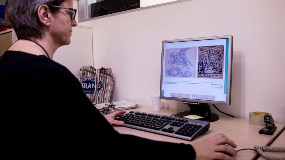 Foto: Digitalización de archivos