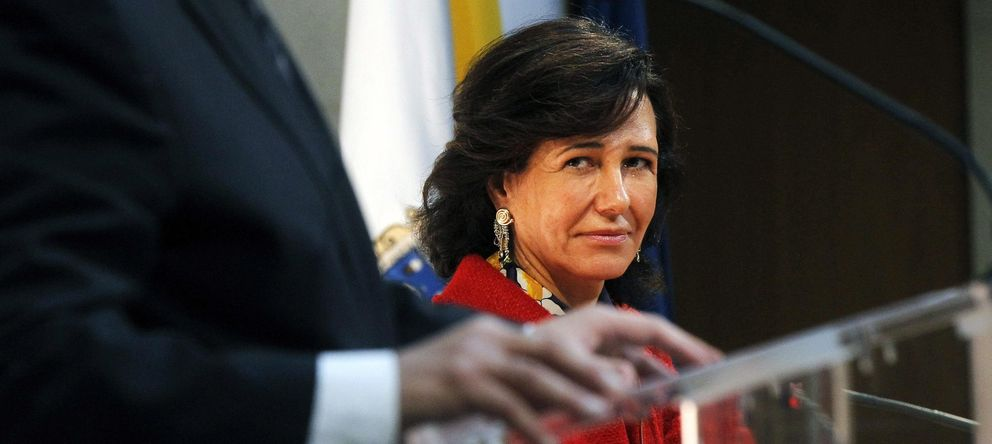 Foto: La presidenta del Banco de Santander, Ana Botín (EFE)