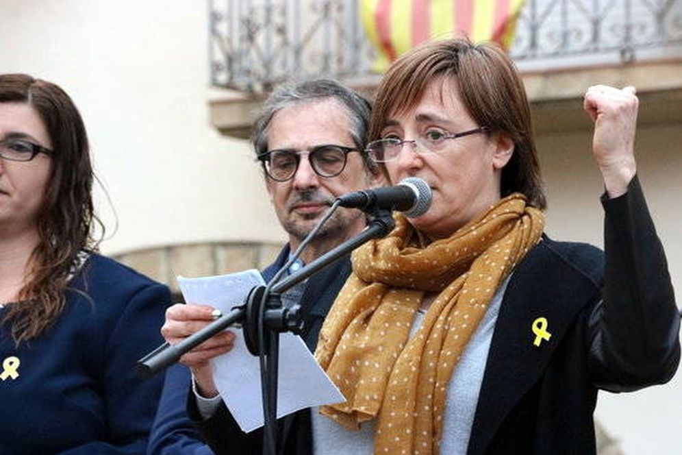 Foto: Anna Puigdemont, hermana del 'expresident'.