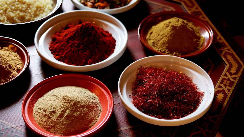El lujo de comer en La Mamounia, en Marrakech
