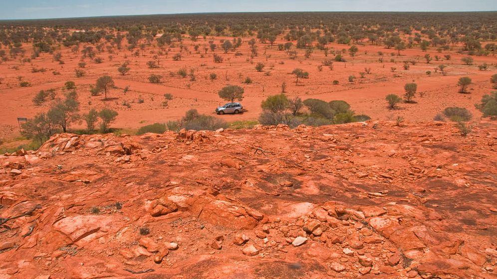 Foto: Cráter de Yarrabubba. (Foto: Graeme Chruchard / Flickr)
