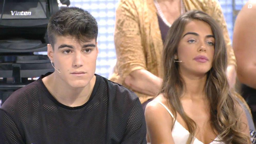 Foto: Julen y Violeta en 'MYHYV'. (Mediaset España)