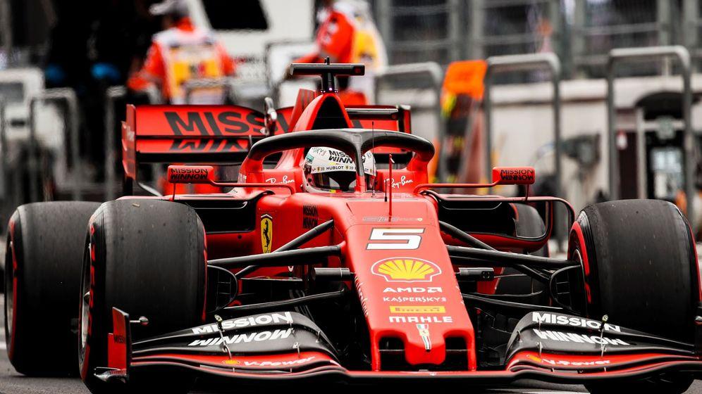 Foto: Vettel fue el piloto más rápido en los entrenamientos libres. (EFE)
