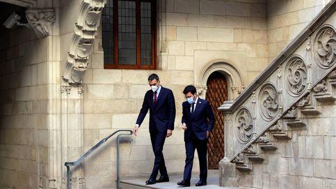 Sánchez y Aragonès, el 'Tripartit' por la puerta de atrás