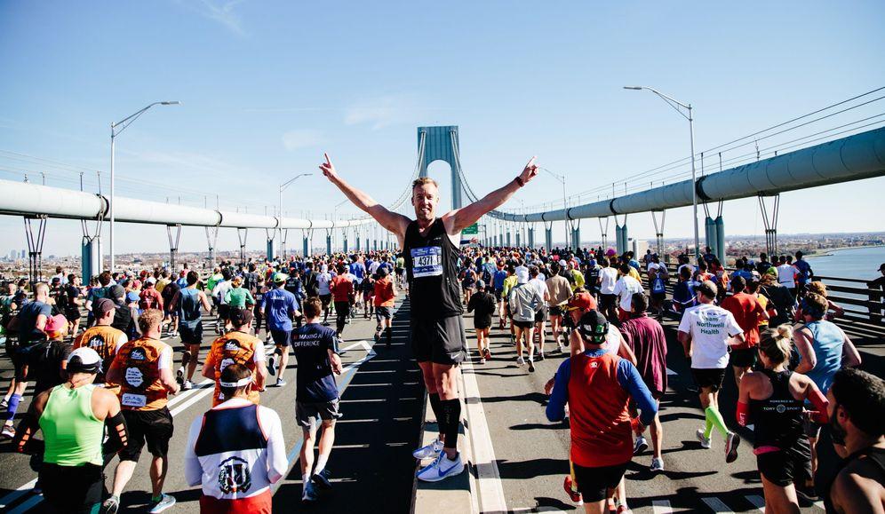 Foto: La maratón de Nueva York, frecuentada por las élites españolas. (Alba Vigaray/Efe)