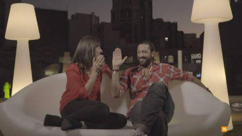 Rafael Amargo con Lorena Berdún.