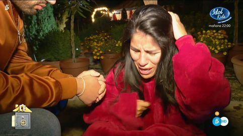 Asraf vuelve a hacer llorar a Isa Pantoja en 'La casa fuerte': ¡No me toques!