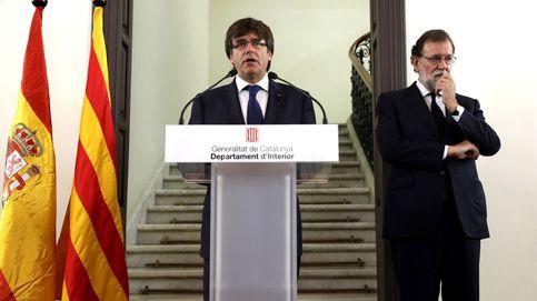 Puigdemont acusa al Gobierno de jugar a hacer política con la seguridad catalana