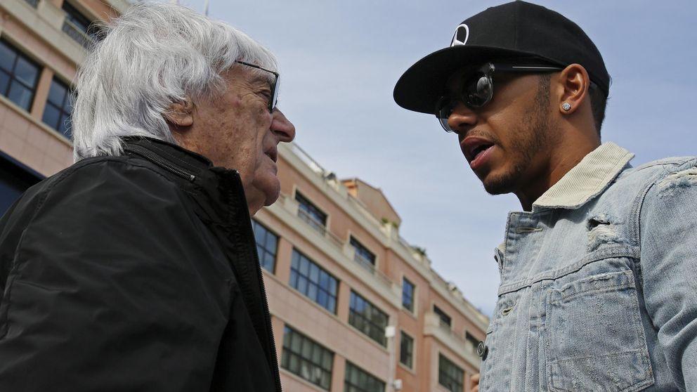 Bernie Ecclestone, el bocazas de la Fórmula 1 y el bofetón que recibió de Hamilton