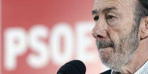 Rubalcaba lamenta los resultados logrados por Bildu en las elecciones municipales