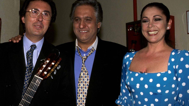 Chiquetete, junto a su prima Isabel Pantoja. (Cordon Press)