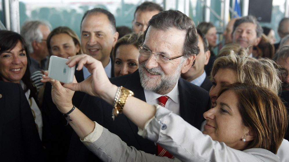 Foto: El presidente del Gobierno, Mariano Rajoy, a la cola de los líderes mejor valorados según los últimos barómetros (EFE)