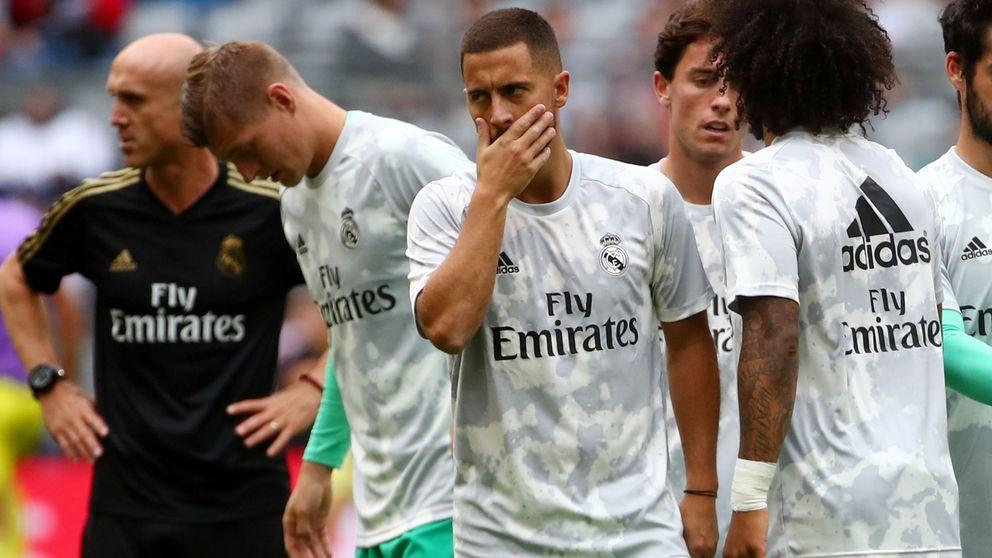 Eden Hazard está KO para empezar: no jugará ante el Celta de Vigo por lesión