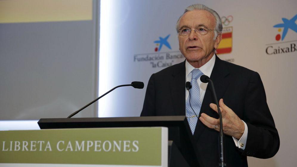 Foto: Presidente de la Fundación Bancaria la Caixa, Isidre Fainé,