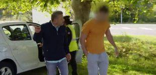 Post de Chicote acorrala a un vendedor de marisco ilegal en Galicia: