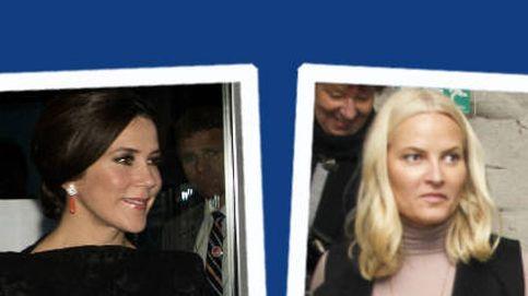 Estilo Real: las princesas Mette-Marit y Mary se intercambian los papeles