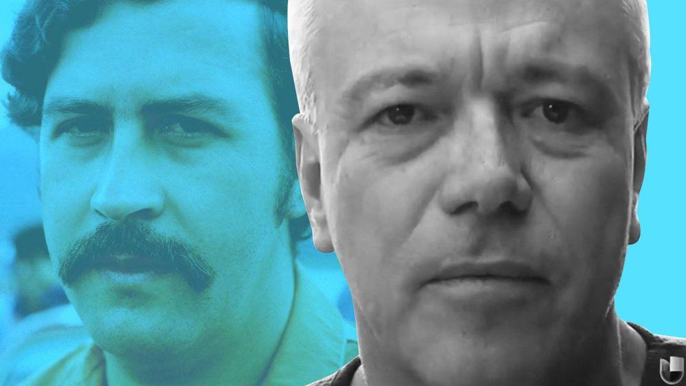 Foto: John Jairo Velásquez, alias 'Popeye' (dcha), es el sicario de Pablo Escobar que más información ha dado siempre sobre Miguelito.