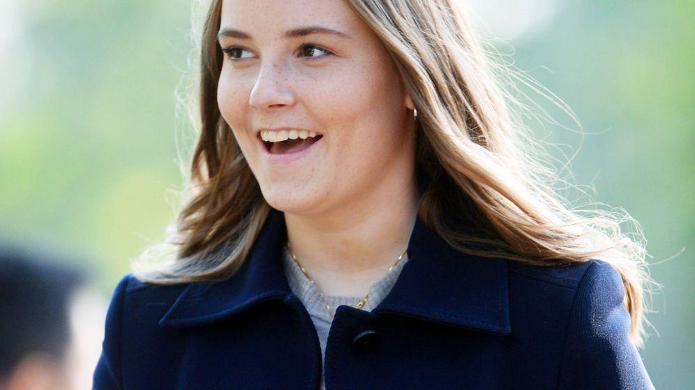 Foto: La princesa Ingrid Alexandra, este martes en Noruega. (Getty)
