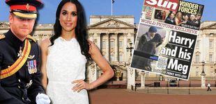 Post de 'The Sun' publica la primera imagen del príncipe Harry y Meghan Markle juntos