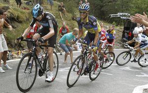 Contador inicia la reconquista del Tour en casa de su enemigo