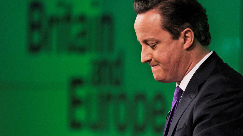 El ex primer ministro birtánico, David Cameron. (EFE)