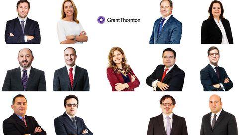 Grant Thornton nombra a trece nuevos socios, cuatro de ellos de cuota