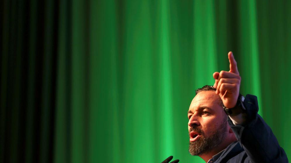 Foto: Santiago Abascal, en un acto de Vox en Toledo. (Reuters)