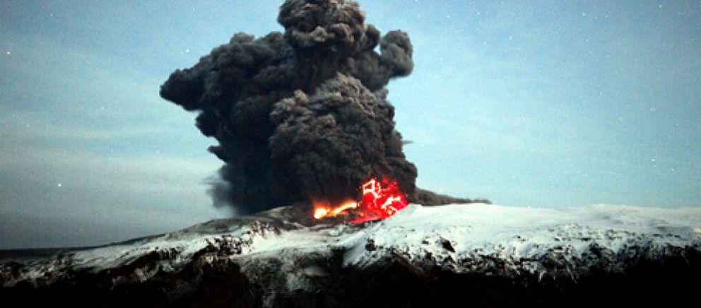 Foto: El volcán quema $250 millones diarios de las aerolíneas, más que en el 11-S