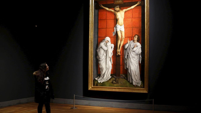 Foto: Tras cuatro años de restauración, 'El Calvario' luce sin las heridas que lo desangraban. (REUTERS/Susana Vera)