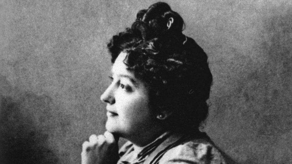 Foto: Una imagen de Carmen de Burgos, también conocida como 'Colombine', una de las principales feministas españolas.