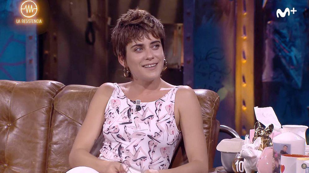 Foto: María León en 'La resistencia'. (Youtube)