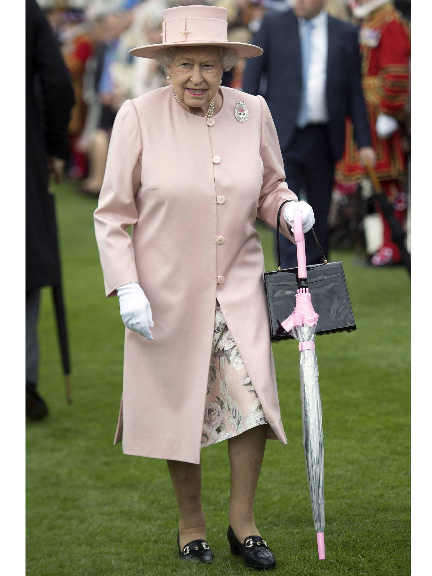La reina Isabel, en una imagen de archivo. (Getty)