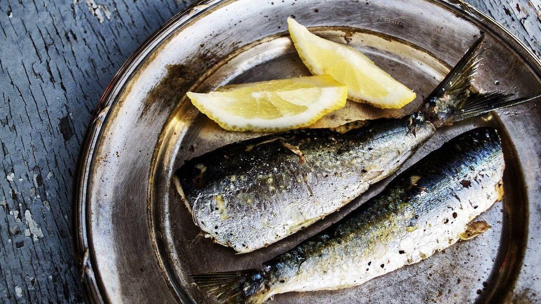 Plato de sardinas.