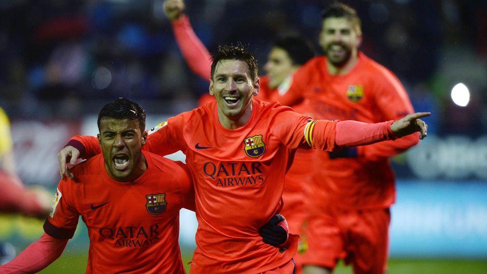 Leo Messi mete máxima presión al Madrid y al 'silencioso' Cristiano