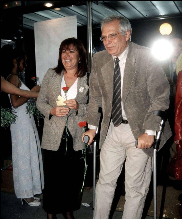 Foto: Josep Borrell y Cristina Narbona, en un acto en Madrid. (EFE)