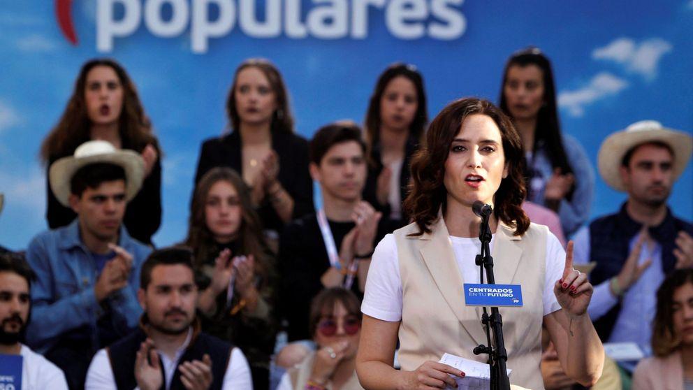 Elecciones autonómicas: Ayuso promete crear 30 nuevos colegios públicos bilingües