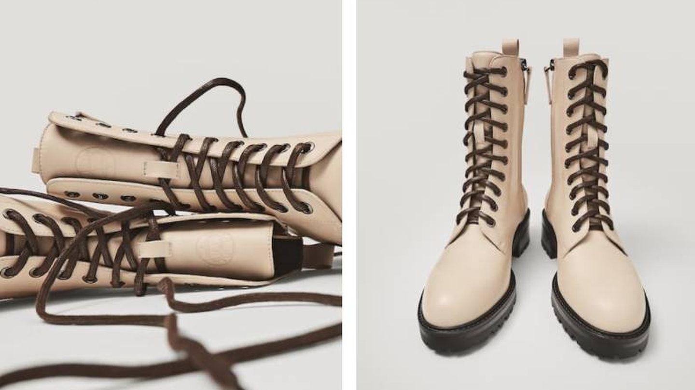 Deseamos estas botas de Massimo Dutti. (Cortesía)