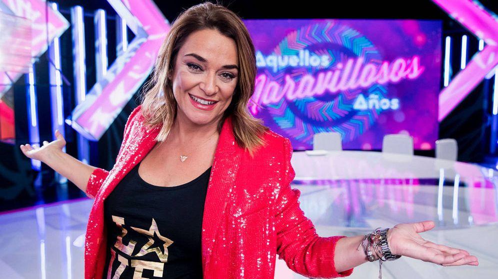 Foto: La presentadora Toñi Moreno. (Telemadrid)