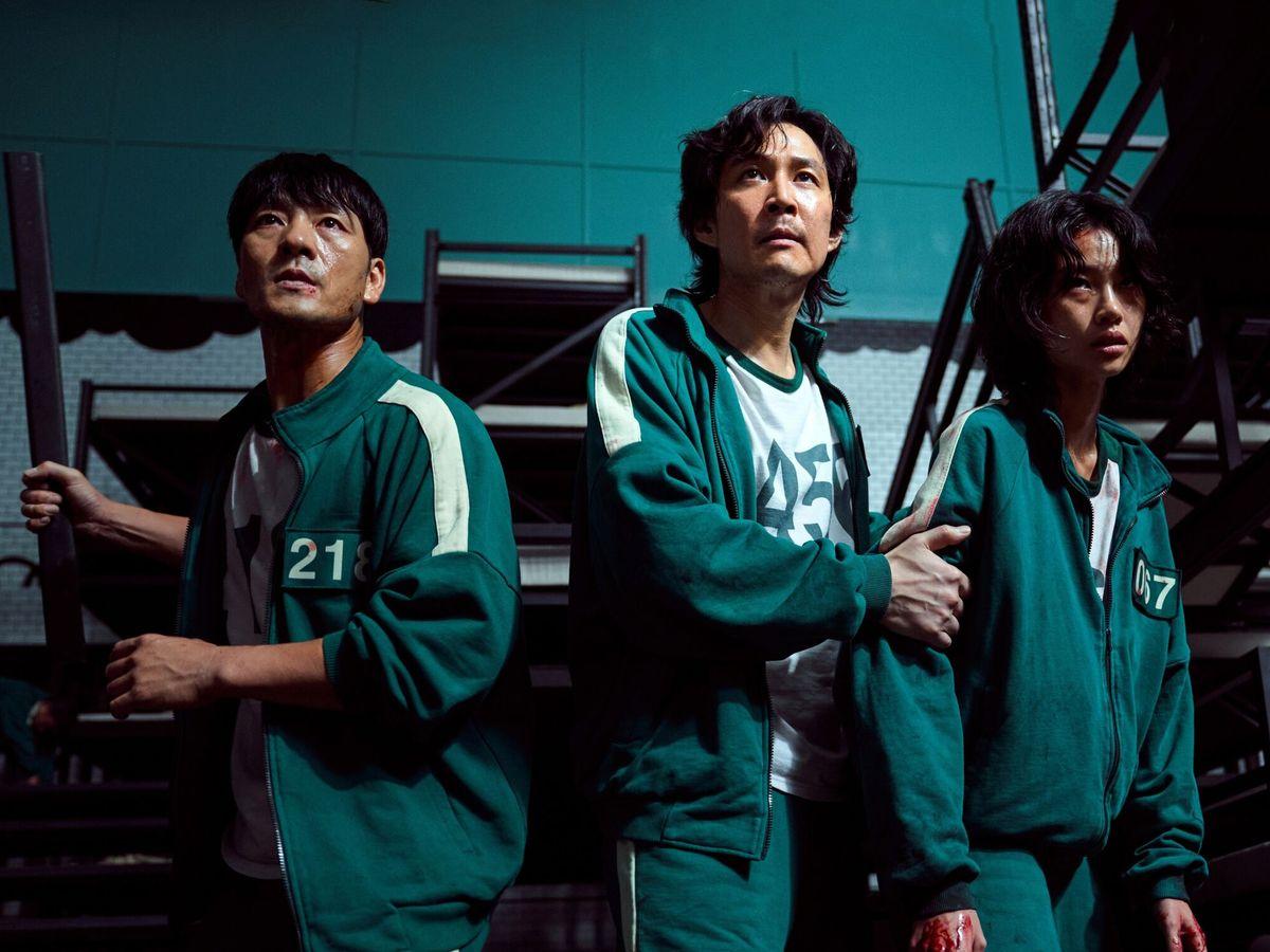 Foto: Protagonistas de 'El juego del calamar'. (Netflix)