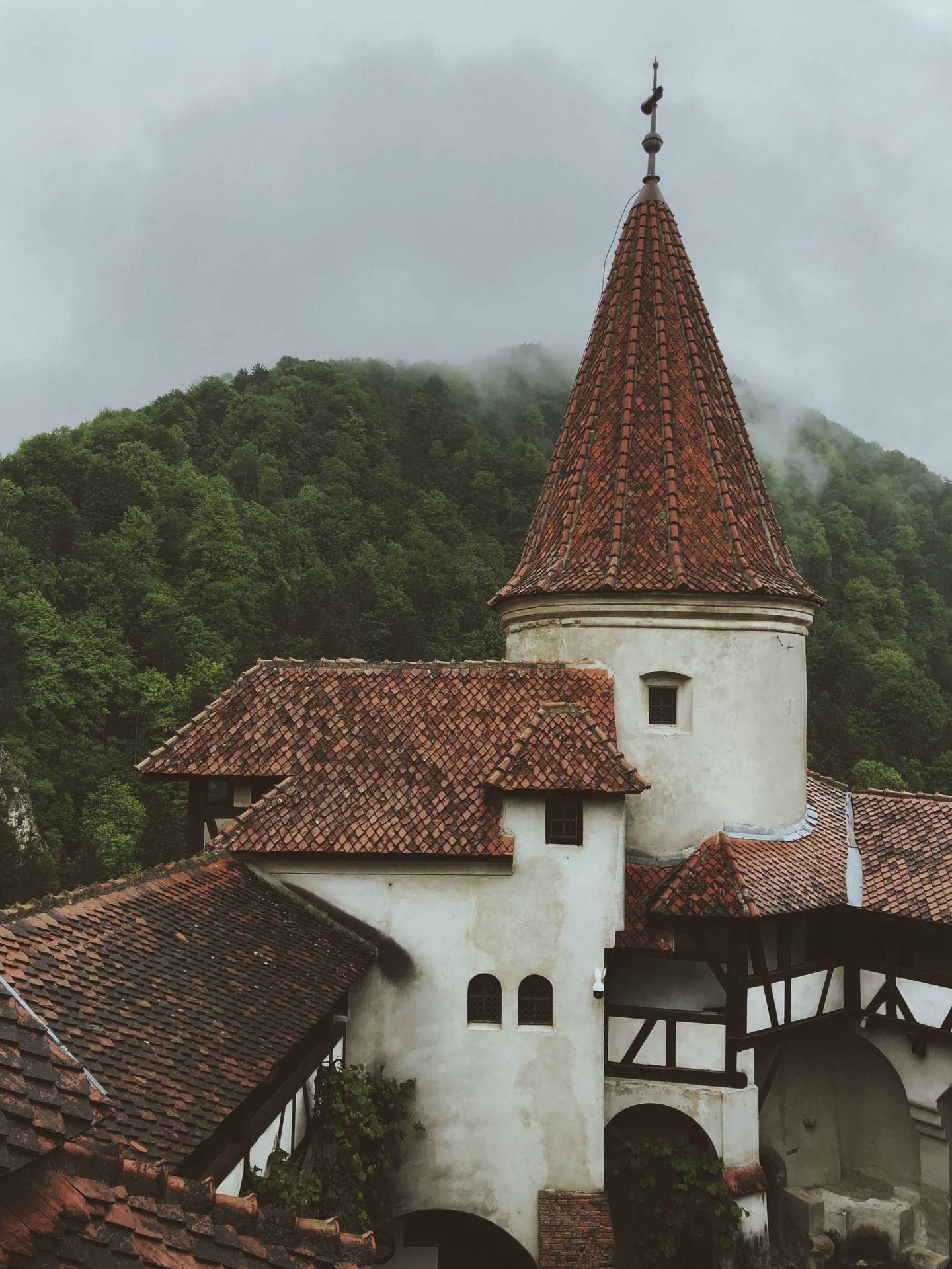 Castillo de Bran, Rumanía. (Unsplash)