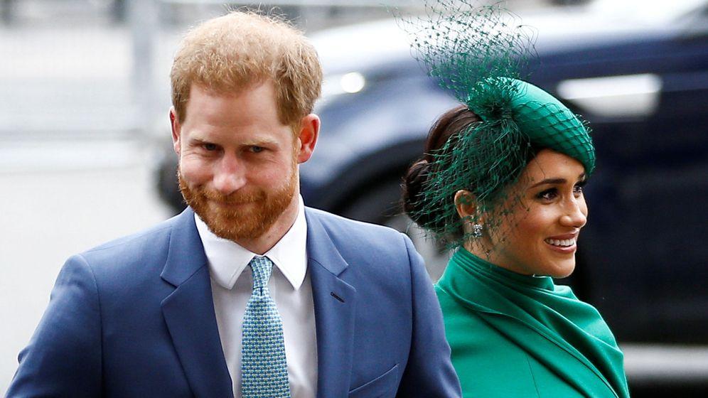 Foto: Los duques de Sussex, en su última aparición pública. (Reuters)