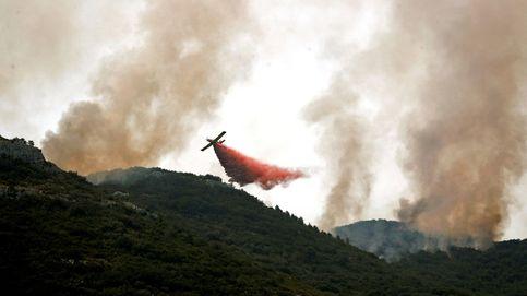 El incendio de Llutxent (Valencia), en imágenes
