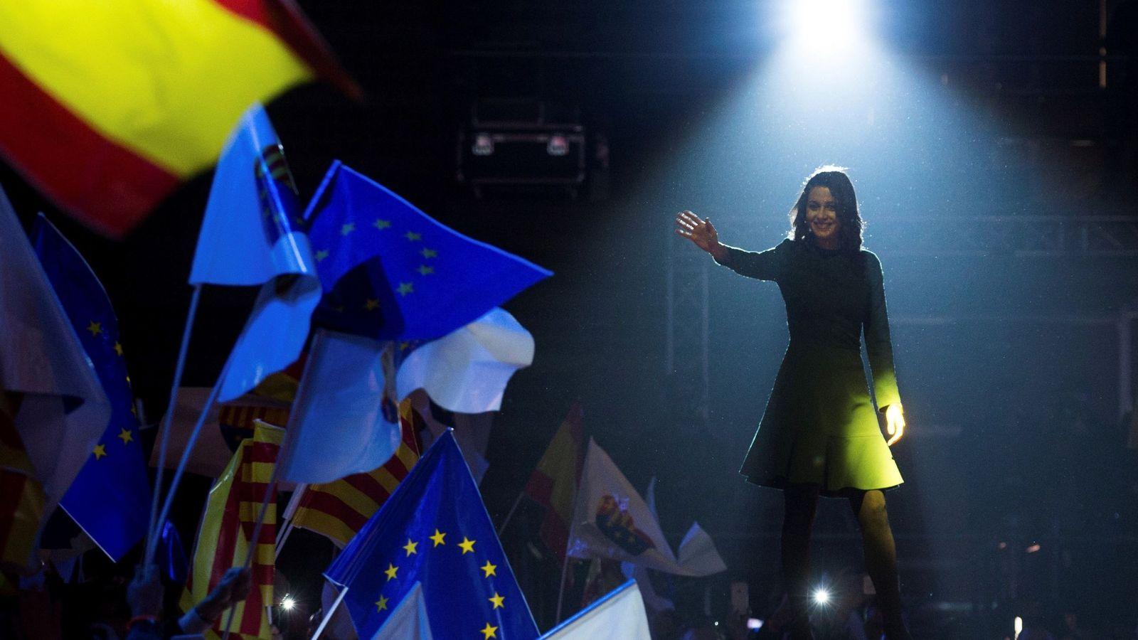 Foto: La candidata a la presidencia de la Generalitat por Ciudadanos, Inés Arrimadas. (EFE)