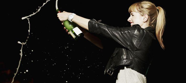 Foto: El champán nunca se acababa. (Corbis)