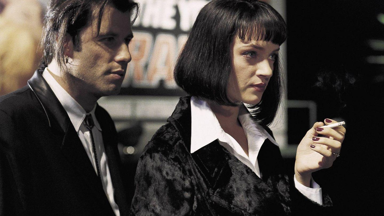 John Travolta y Uma Thurman. (CP)
