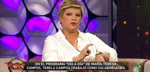 Post de Terelu Campos destapa el rapapolvo que le echó María Teresa en 'Día a Día'