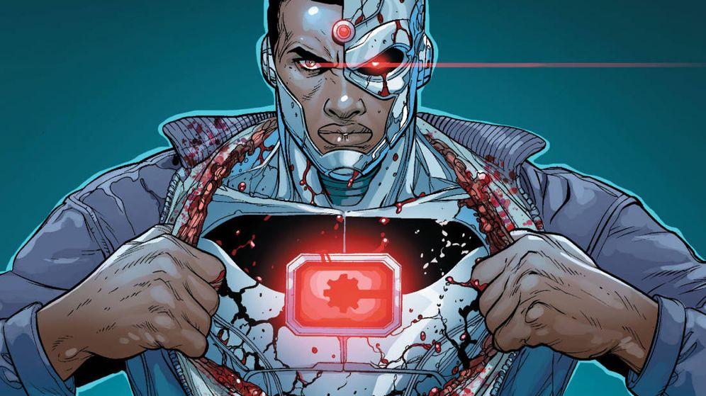 Foto: El superhéroe de DC Cyborg