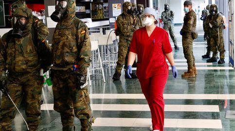 Un total de 106 militares de la UME dan positivo en covid-19, un 3,2% del total