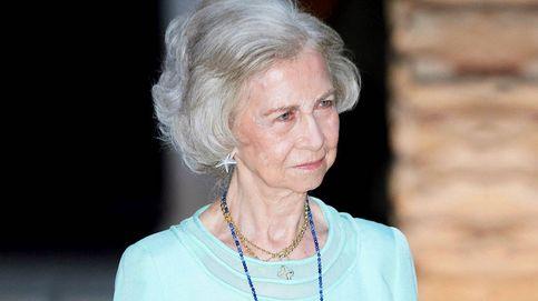 La Reina Sofía, la única que no 'desaparece' en verano